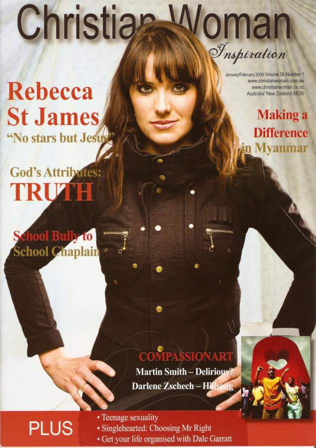 Christian Woman, January/February, 2009.  Readers Story is Jodie's Journey.